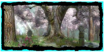 Druids' Grove in daylight