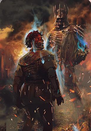 Eredin bringer of death gwent card the official - Ciri gwent card witcher 3 ...