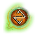 Heliotrope icon, active