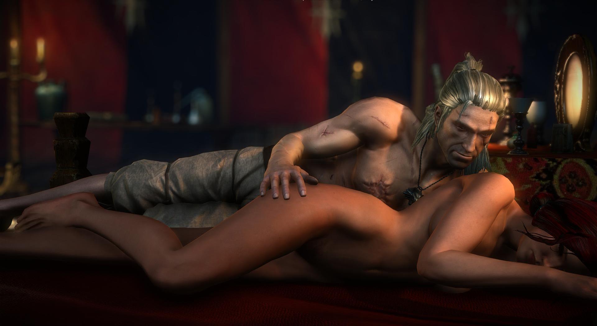 All triss sex scenes