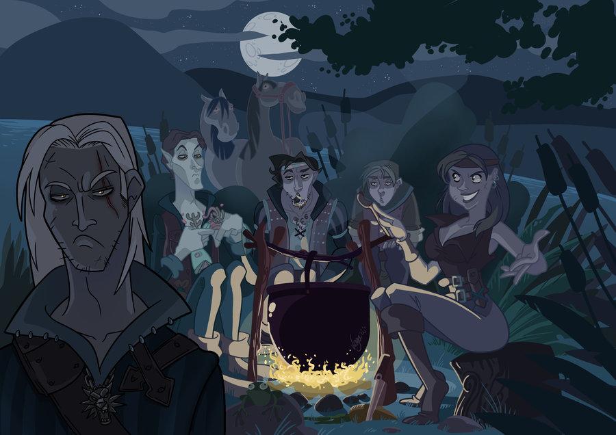 witcher 3 milva