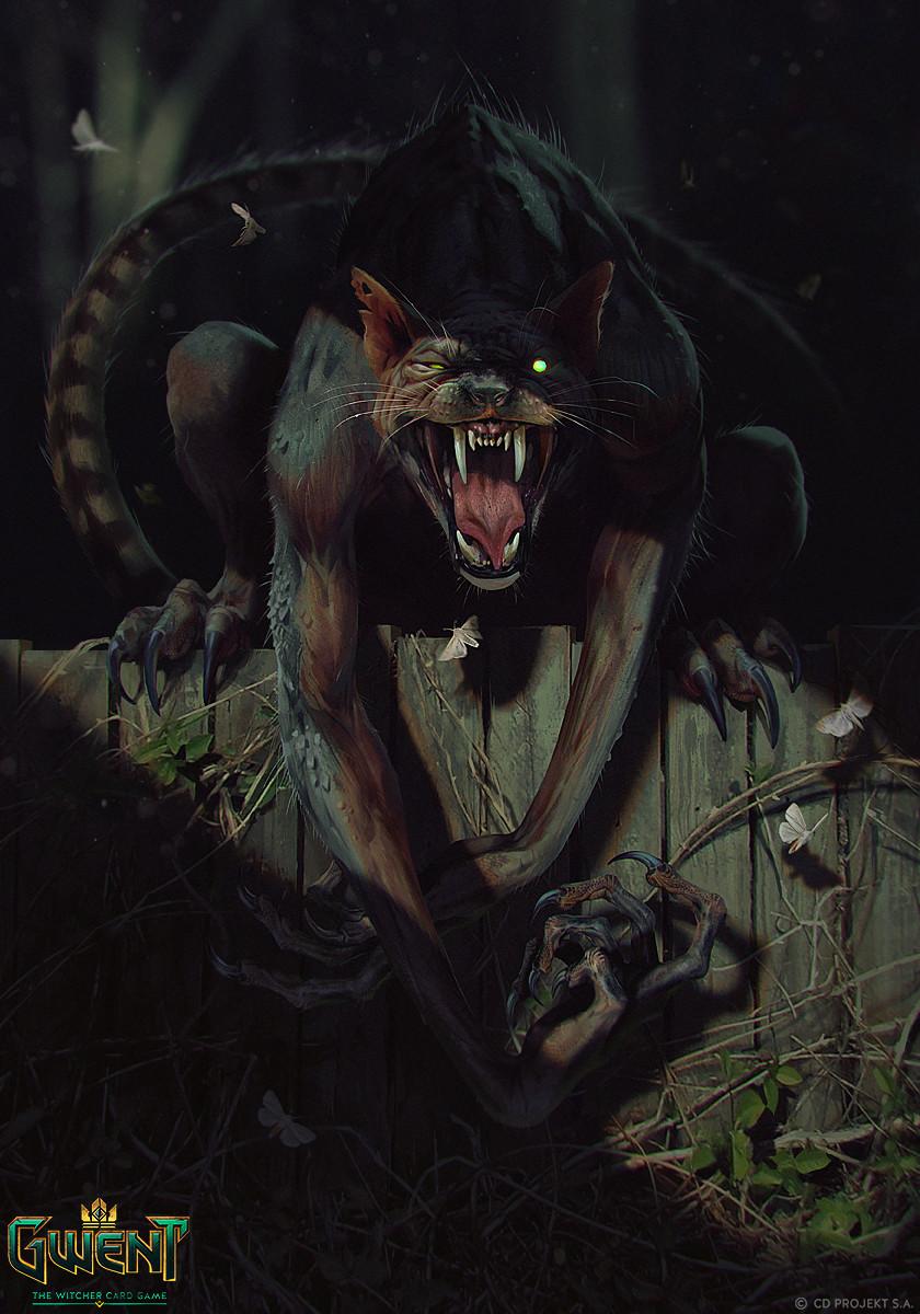 Werecat The Official Witcher Wiki