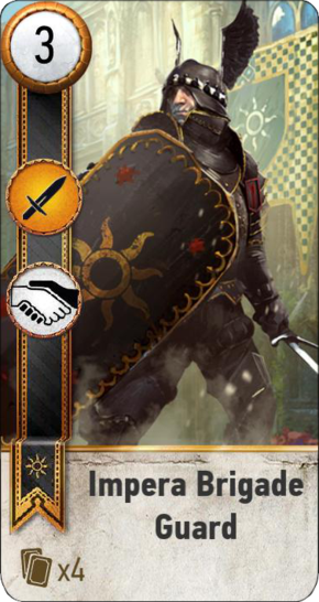 Tw3 gwent card face Impera Brigade Guard 1.png