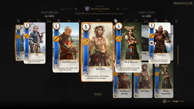 Gwent Deck Composition