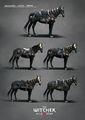 Tw3 concept art nilfgaard horse armor by Marta Dettlaff.jpg