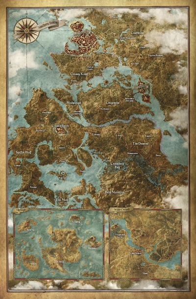 The Witcher 3 locations - The Official Witcher Wiki