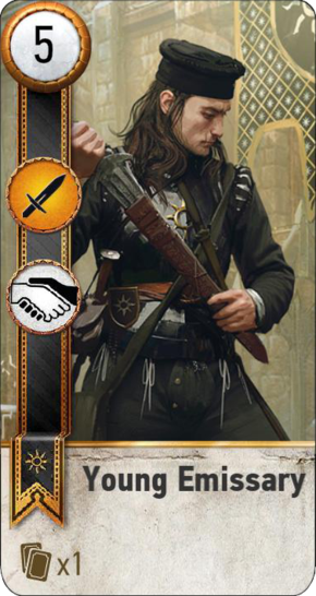 Tw3 gwent card face Young Emmisary 2.png