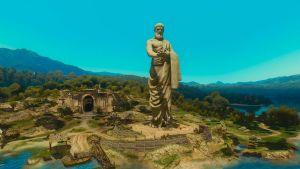 Prophet Lebioda Statue