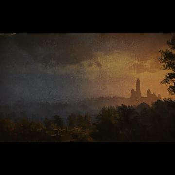 Torre di Aretuza al tramonto