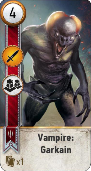 Tw3 gwent card face Vampire Garkain.png