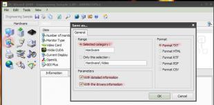 screen shot of PC Wizard