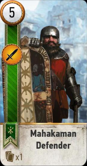Tw3 gwent card face Mahakaman Defender 5.png