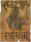 defaced Royal Temerian Guard recruiting poster