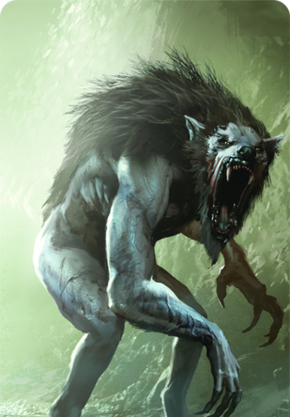 Tw3 cardart monsters werewolf.png