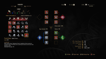 The Witcher 3 abilities - The Official Witcher Wiki