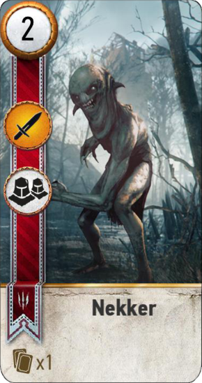Tw3 gwent card face Nekker 2.png