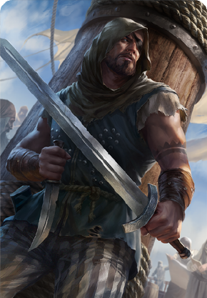 Tw3 cardart skellige clan dimun pirate.png