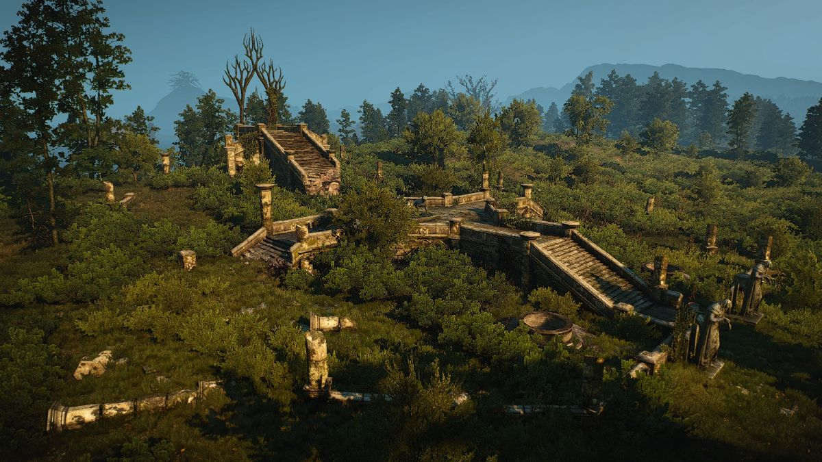 Elven ruins near Lake Wyndamer - The Official Witcher Wiki
