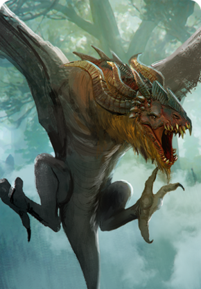 Tw3 cardart monsters wyvern.png