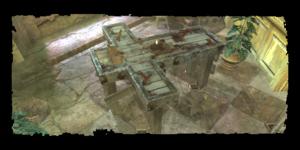 Sabrina Glevissig's vivisection table