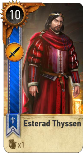 Tw3 gwent card face Esterad Thyssen.png
