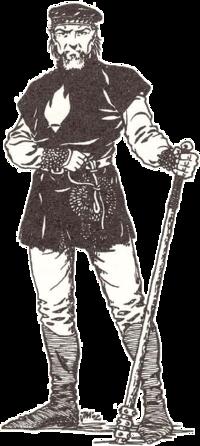 a Temple Guard member