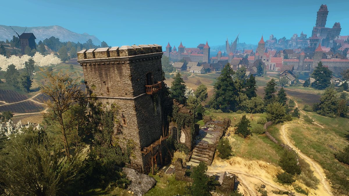 Drahim Castle  The Official Witcher Wiki