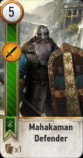 Tw3 gwent card face Mahakaman Defender 2.png