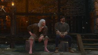 Tw3 bw geralt and handsome jacques.jpg
