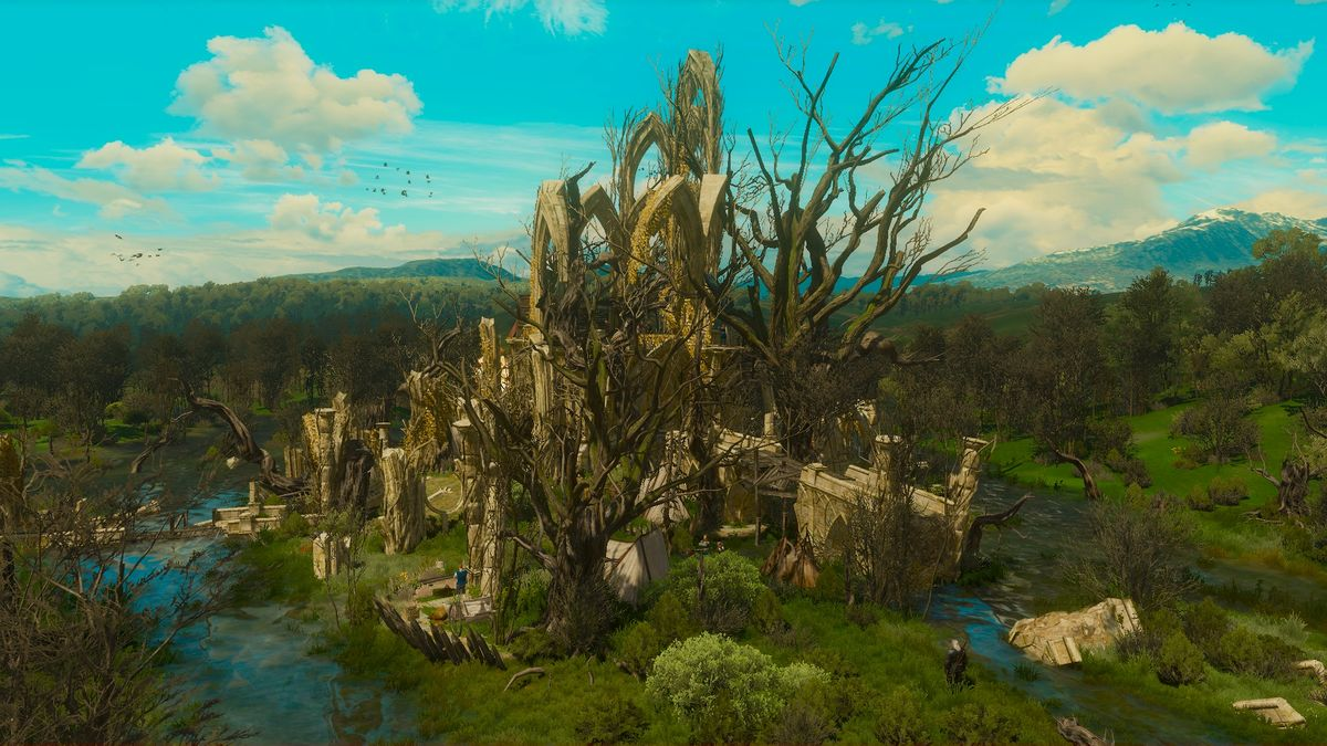 Arthach Palace Ruins The Official Witcher Wiki