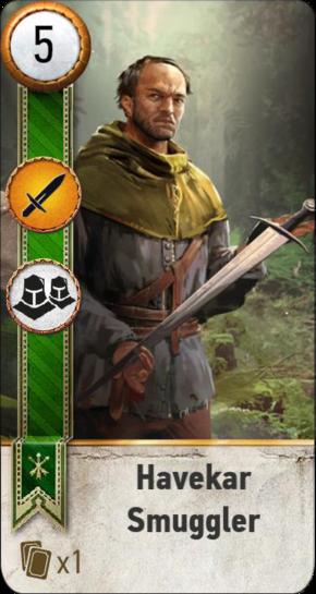Tw3 gwent card face Havekar Smuggler 2.png