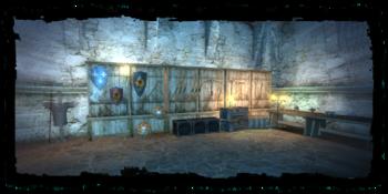 the werewolf's secret lair