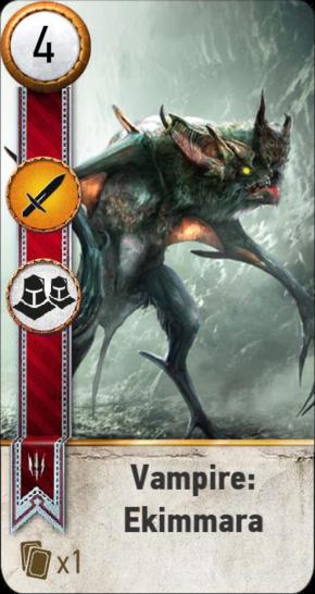Tw3 gwent card face Vampire Ekimmara.png