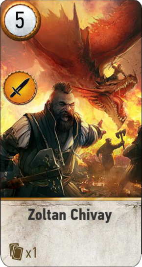 Tw3 gwent card face Zoltan Chivay dlc.png