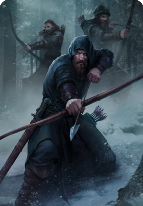 Tw3 cardart skellige clan brokvar archer.png