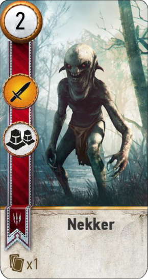 Tw3 gwent card face Nekker 1.png