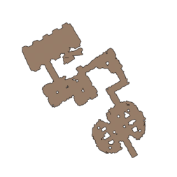 Map of crypt