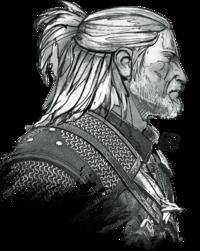 Geralt of Rivia concept art - TW3 artbook.png