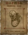 Letho's wanted poster