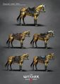 Tw3 concept art temerian horse armor by Marta Dettlaff.jpg