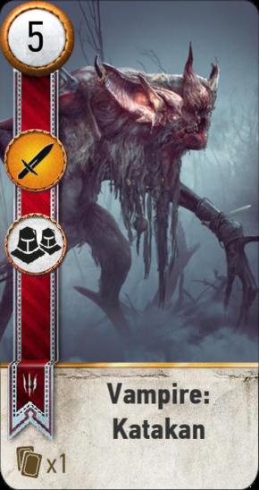 Tw3 gwent card face Vampire Katakan.png