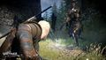 Tw3 e3 2014 screenshot - Geralt battling a general of the Hunt.jpg
