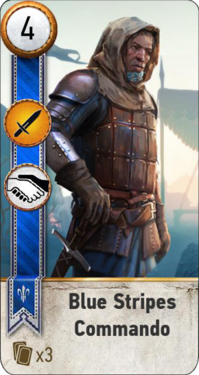 Tw3 gwent card face Blue Stripes Commando 1.png