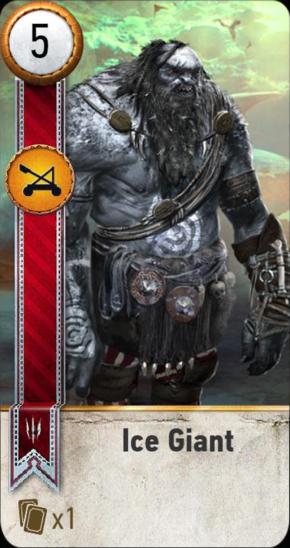 Tw3 gwent card face Ice Giant.png
