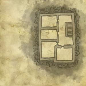 Mappa del piano superiore