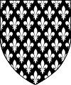 Attuale stemma - in uso sin dal regno di Cedric