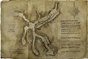 Prima mappa di Balin