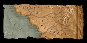 Mappa della regione