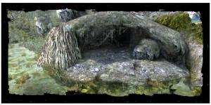 ingresso a la Cripta di Raven