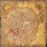 Sentiero Ordine fino alla breccia nelle mura